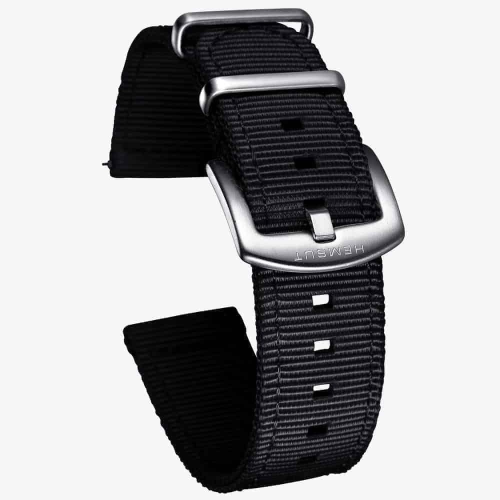 Samsung Galaxy Watch Active 2 | Nylon Watch Bands | Black