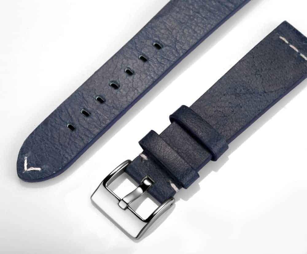 Samsung Galaxy Watch | Calfskin Leather Bands | Blue