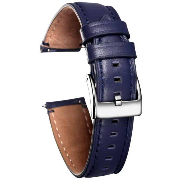 Blue | Cordovan Watch Straps Quick Release - 24mm