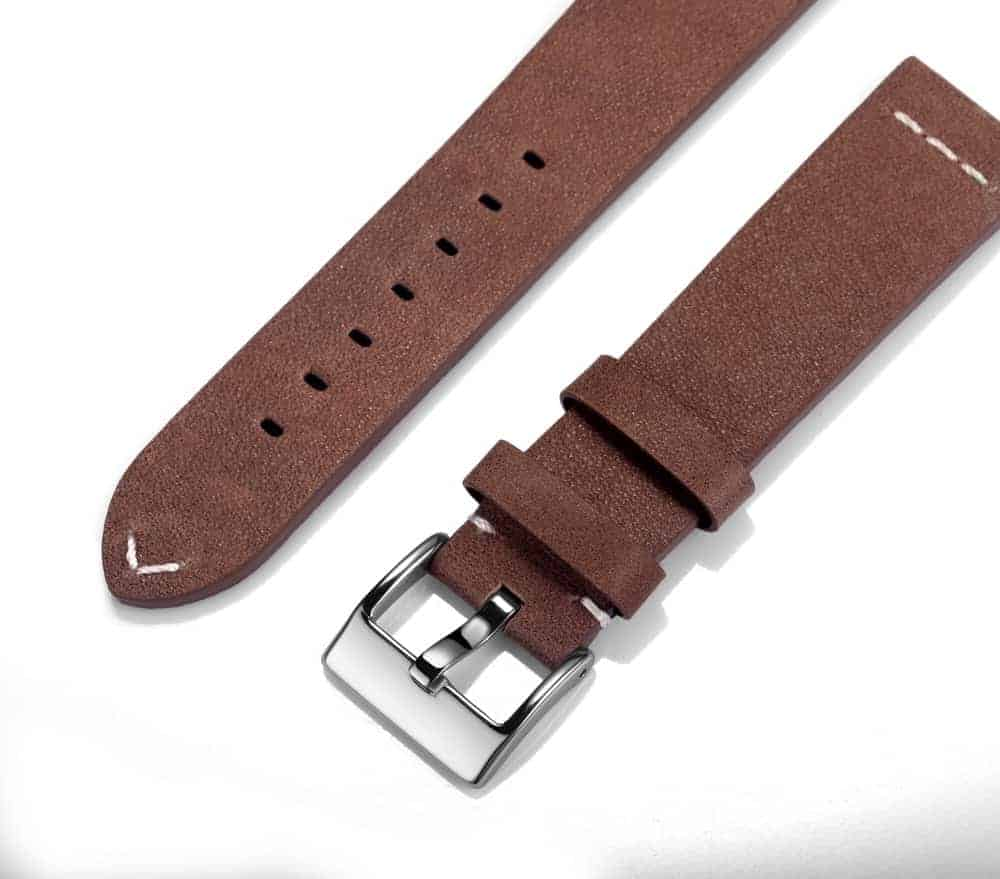 Saddle Calfskin Watch Straps Quick Release
