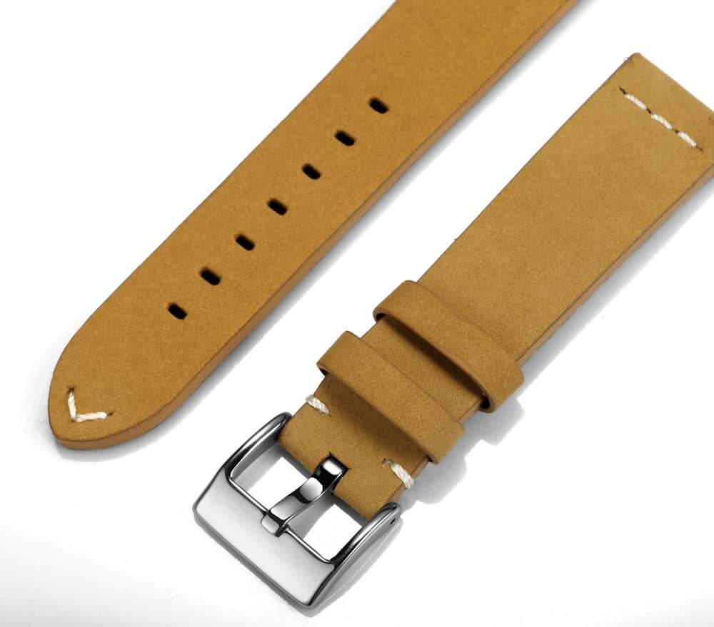 Gingerbread | Calfskin Watch Straps Quick Release
