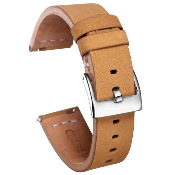 Gingerbread | Calfskin Watch Straps Quick Release