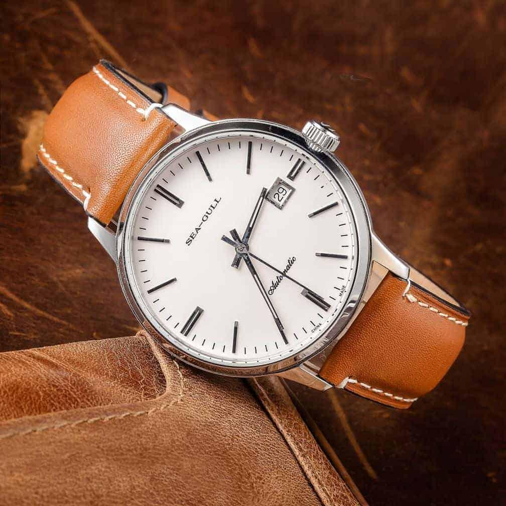 Brown | Cordovan Watch Straps Quick Release