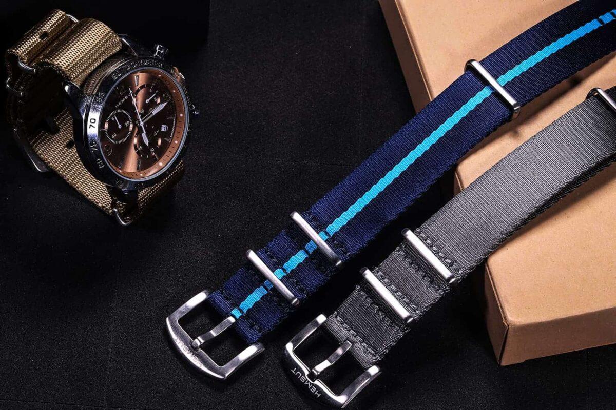 Blue NATO Watch Strap | Hemsut