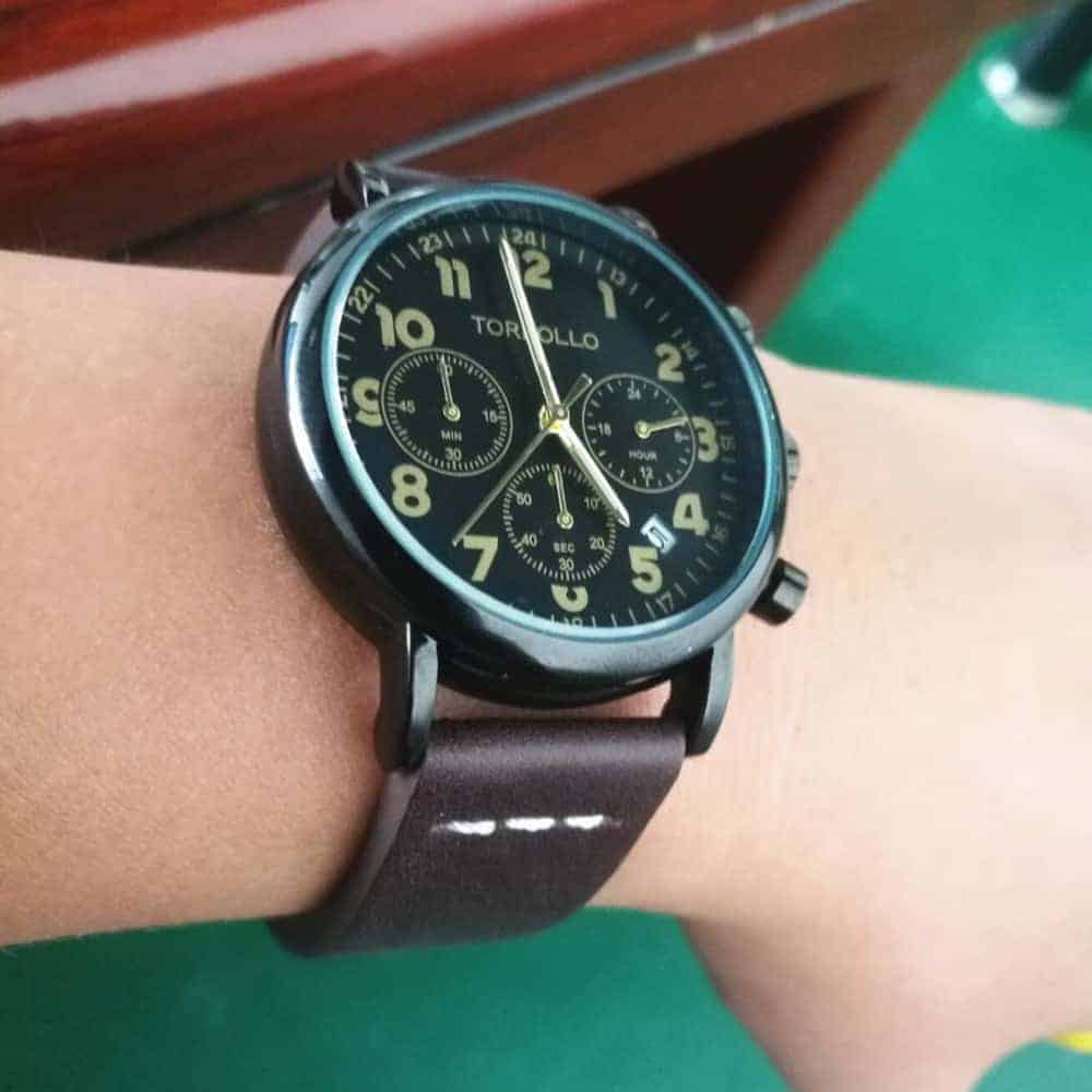 Coffee | Calfskin Watch Straps Quick Release