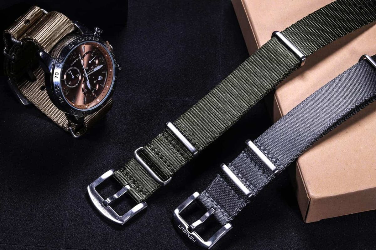 Military Green Nylon NATO Watch Bands | Hemsut