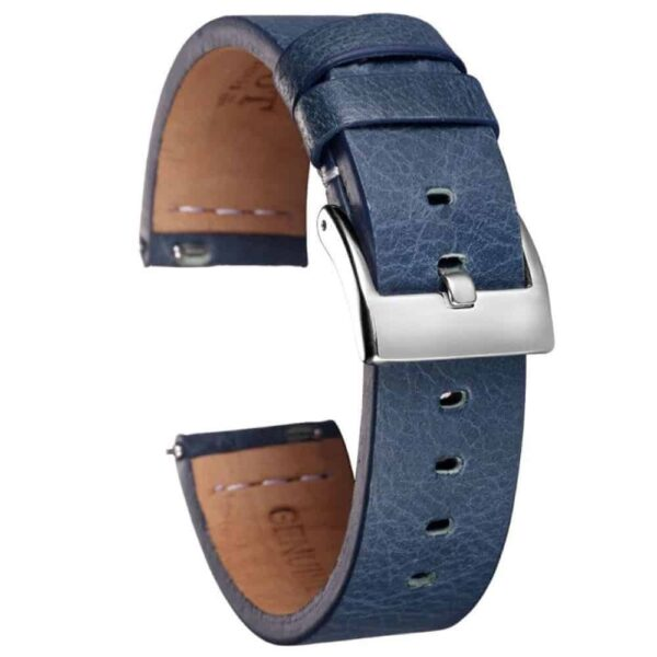 Samsung Galaxy Watch Active | Calfskin Leather Bands | Blue