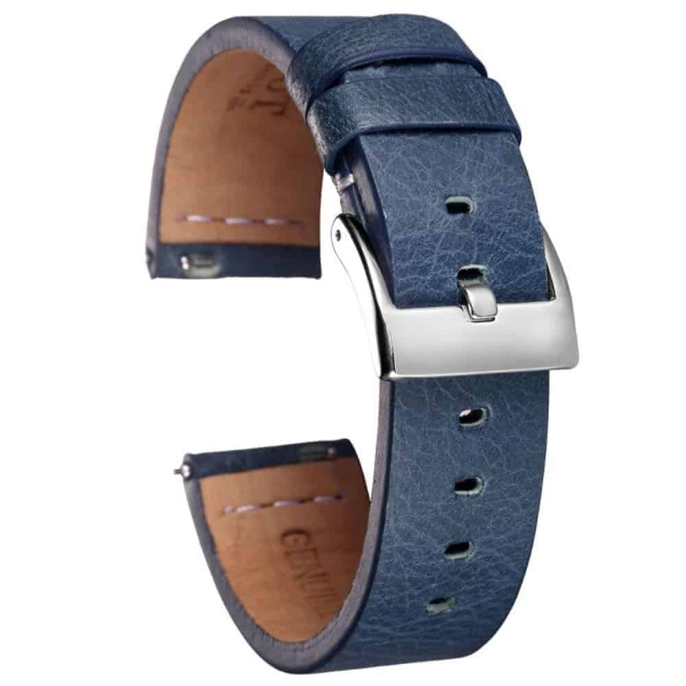 Samsung Gear S3 | Calfskin Leather Bands | Blue