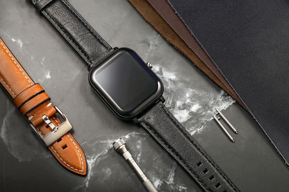 Blue | Cordovan Watch Straps Quick Release