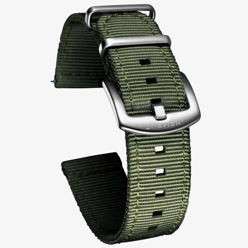 Green | Nylon Watch Band