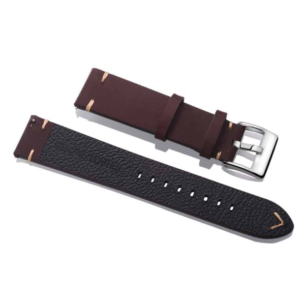 Coffee | Vintage Leather Watch Straps Quick Release