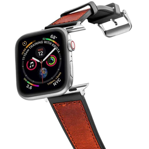 Apple Watch Bands | Silicone Watch Bands | Brown