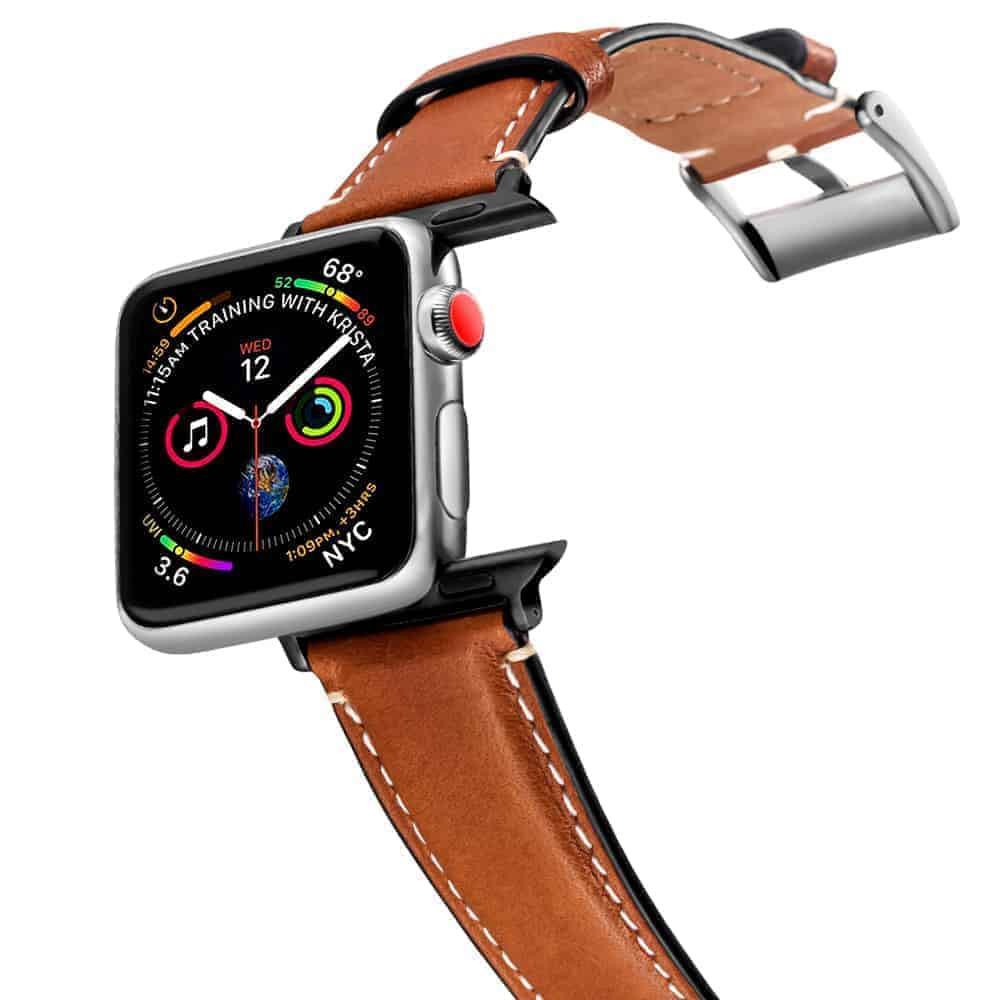 Apple Watch Bands | Genuine Leather Straps | Brown