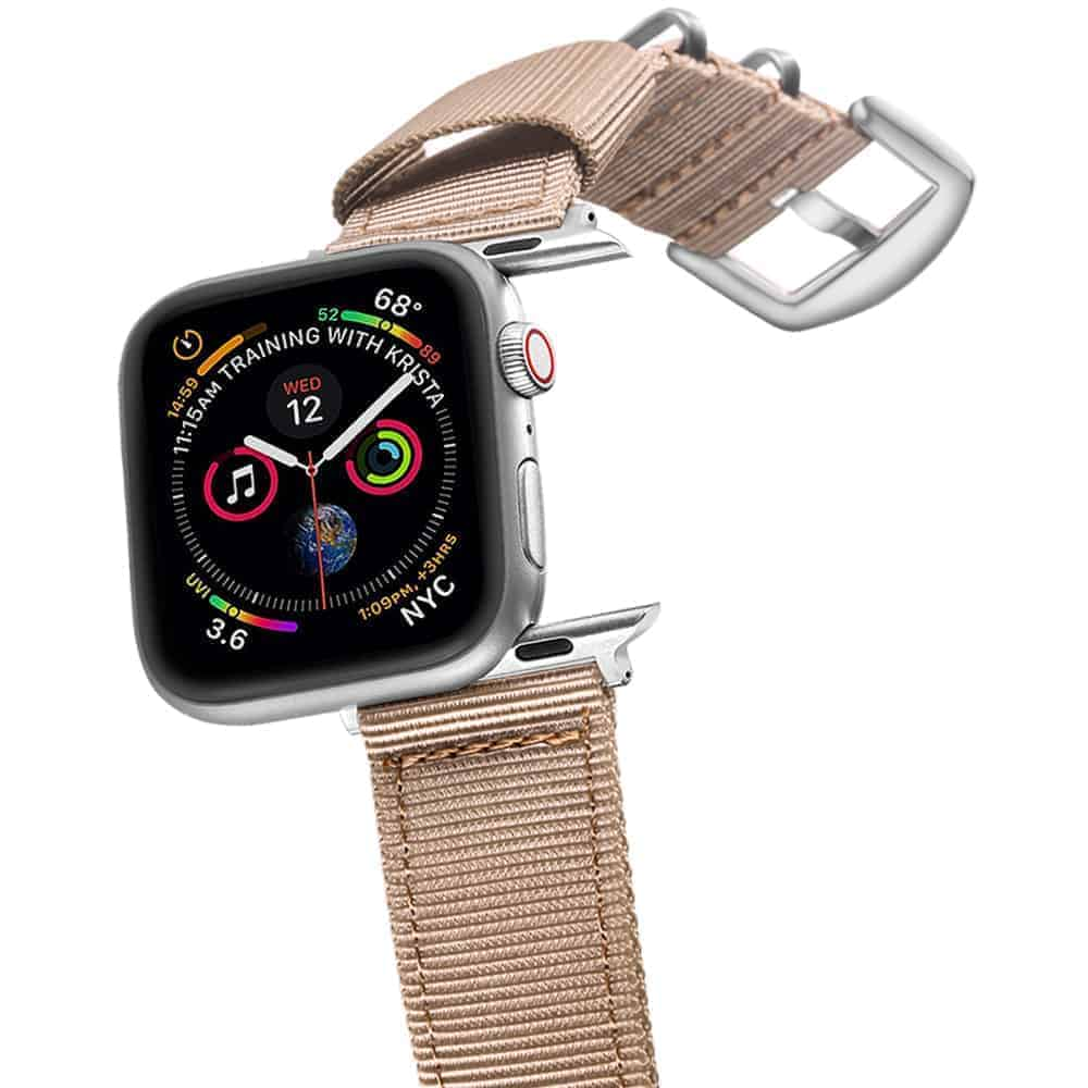 Apple Watch Bands | Nylon Straps | KHAKI