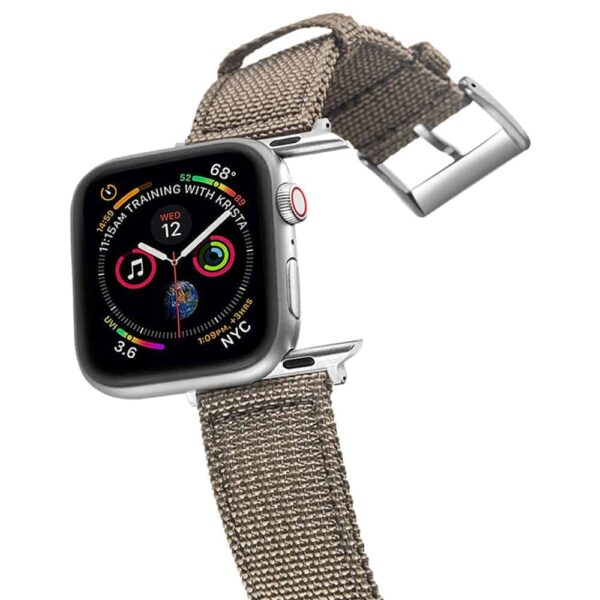 Apple Watch Bands | Canvas Straps | Grey