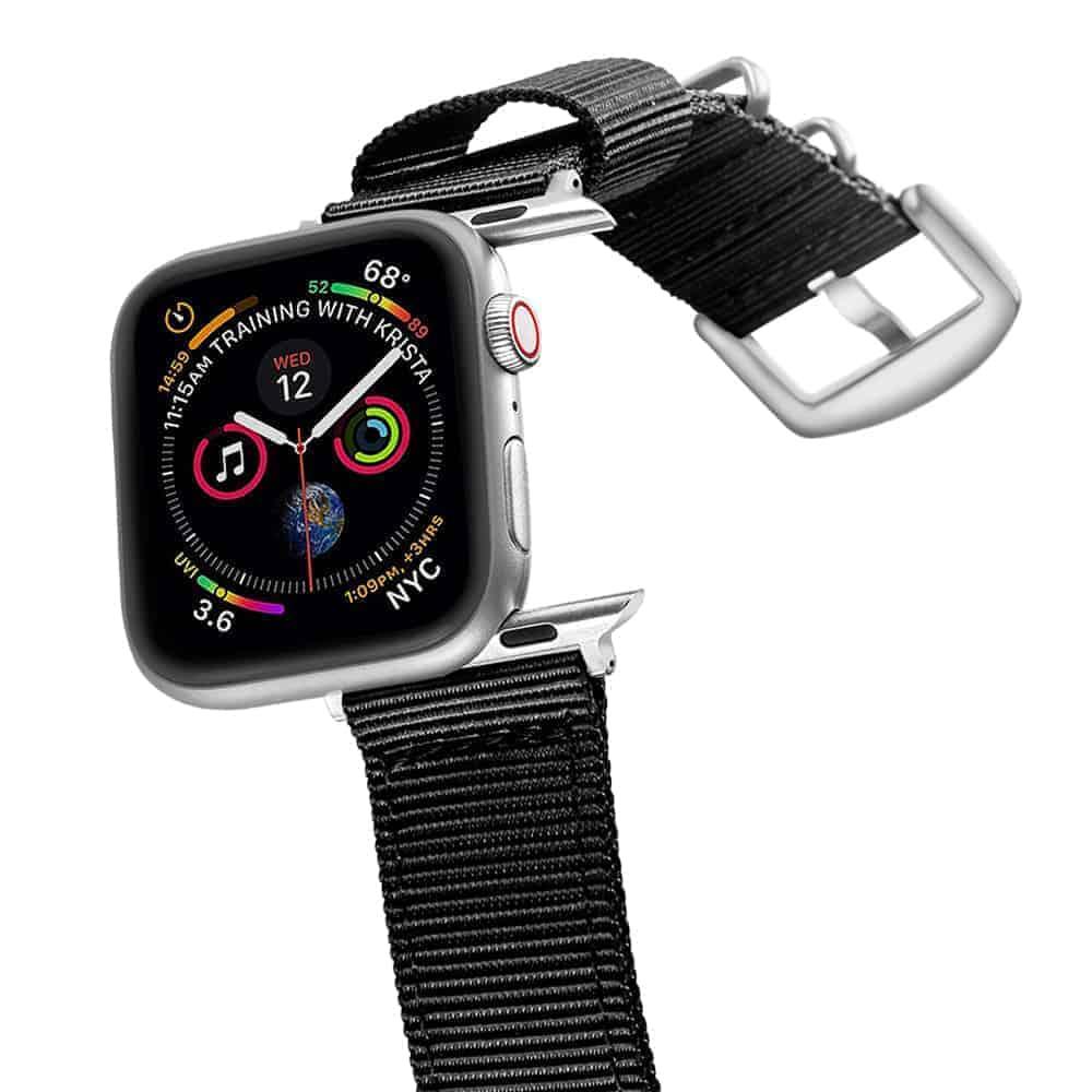 Apple Watch Bands | Nylon Straps | Black