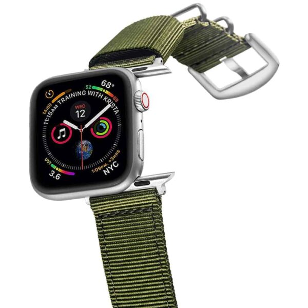 Apple Watch Bands | Nylon Straps | Green
