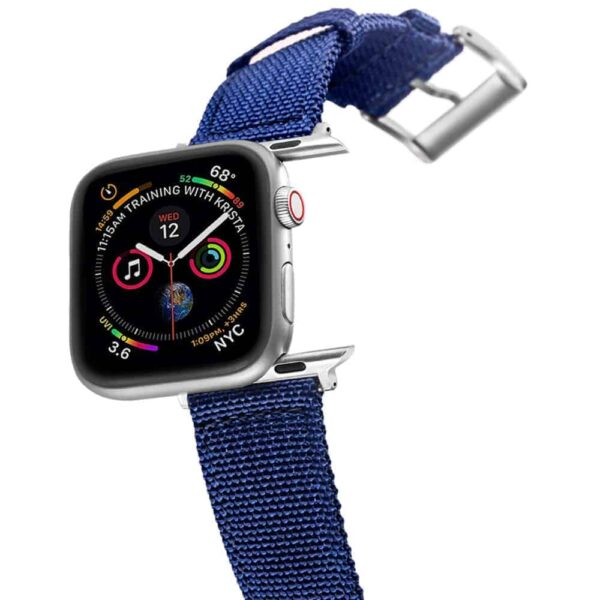 Apple Watch Bands | Canvas Straps | Navy Blue