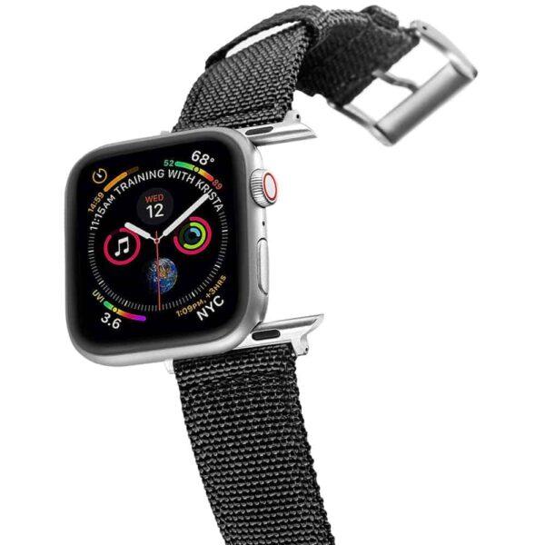 Apple Watch Bands | Canvas Straps | Black