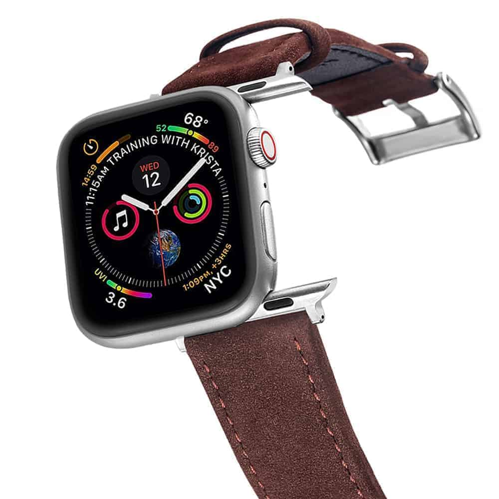 Apple Watch Bands | Genuine Leather Watch Bands | Coffee