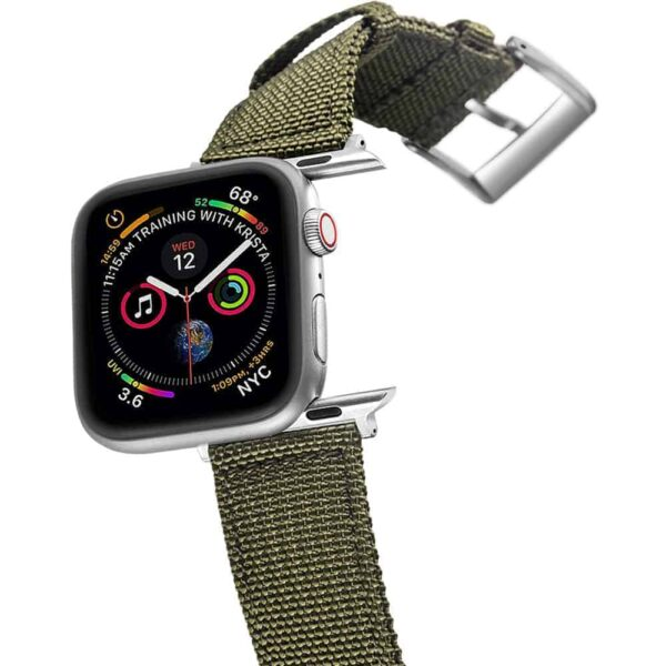Apple Watch Bands | Canvas Straps | Army Green