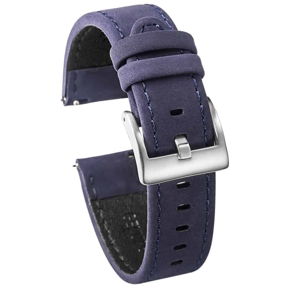 WITHINGS NOKIA ACTIVITÉ AND STEEL HR   Genuine Leather Watch Bands   Blue