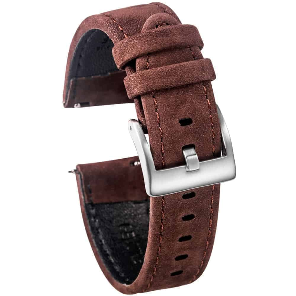 WITHINGS NOKIA ACTIVITÉ AND STEEL HR | Genuine Leather Watch Bands | Coffee
