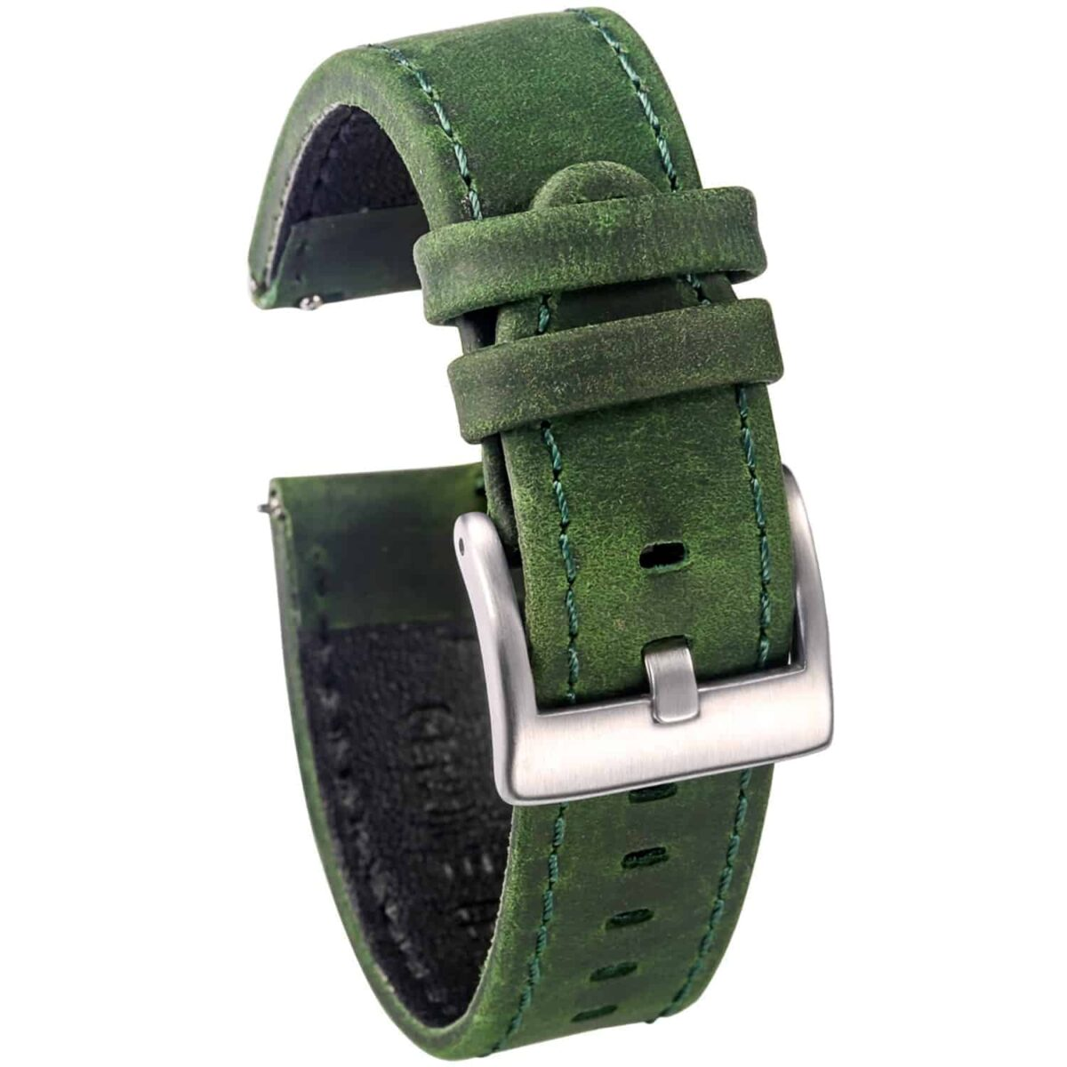 WITHINGS NOKIA ACTIVITE AND STEEL HR | Genuine Leather Watch Bands | Green