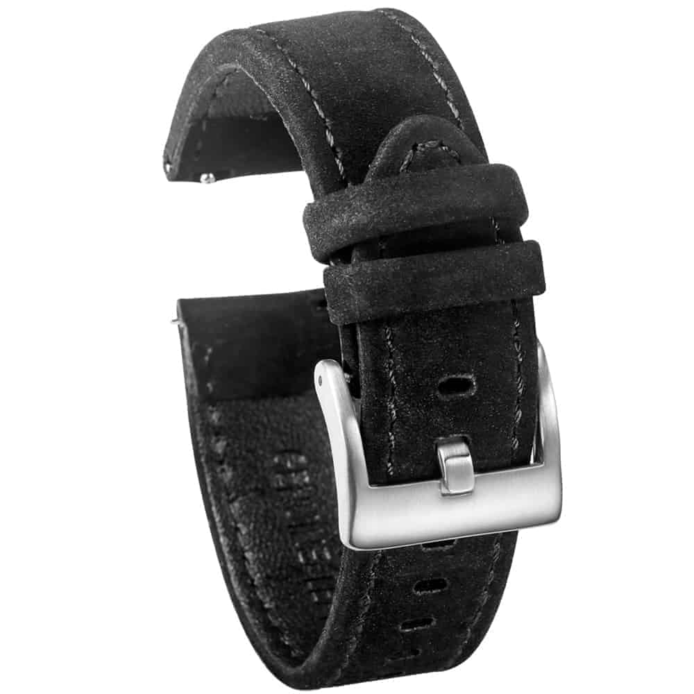 WITHINGS NOKIA ACTIVITÉ AND STEEL HR | Genuine Leather Watch Bands | Black