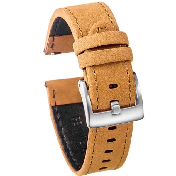 WITHINGS NOKIA ACTIVITÉ AND STEEL HR | Genuine Leather Watch Bands | Brown