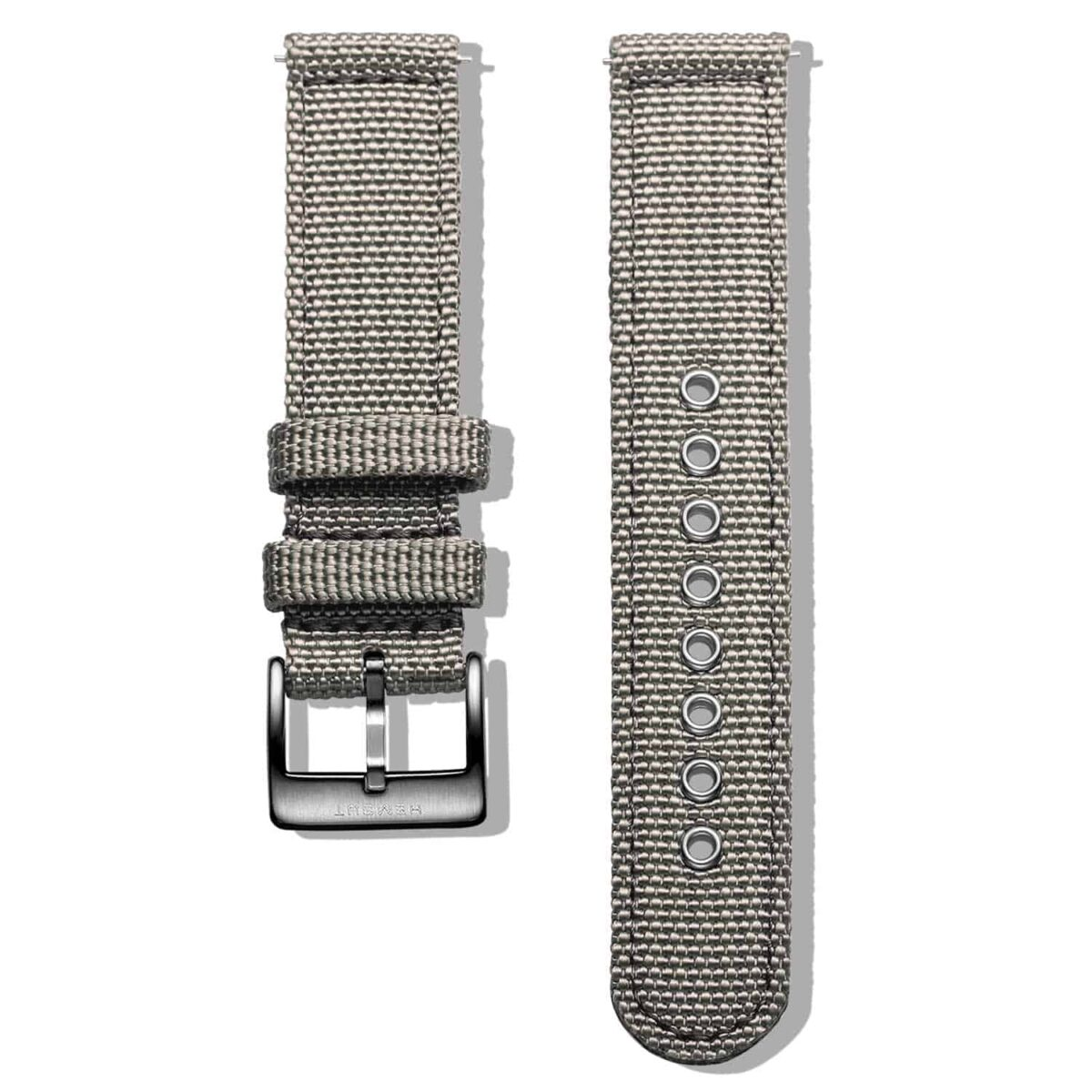 Red | Canvas Watch Straps Quick Release