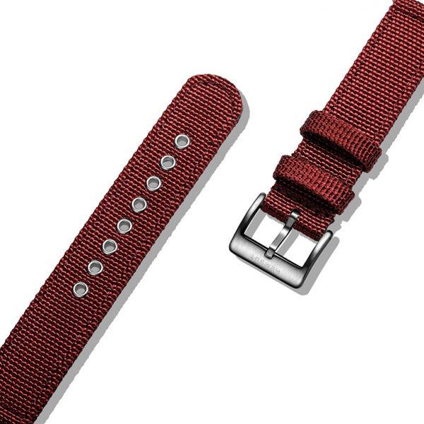 Samsung Gear Sport | Canvas Watch Band | Red