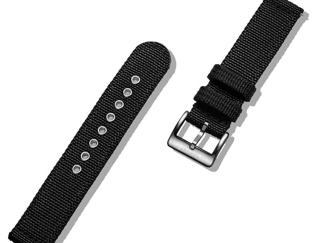 Samsung Galaxy Watch | Canvas Watch Band | Black