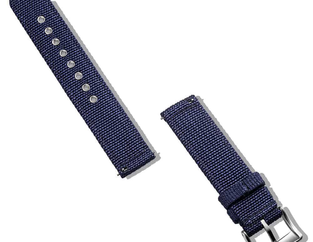 Samsung Gear S2 | Canvas Watch Band | Blue