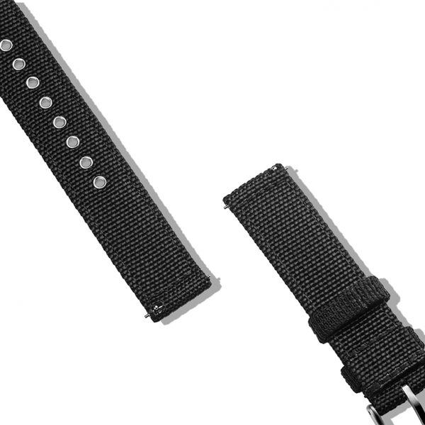 WITHINGS NOKIA ACTIVITE AND STEEL HR | Canvas Watch Band | Black