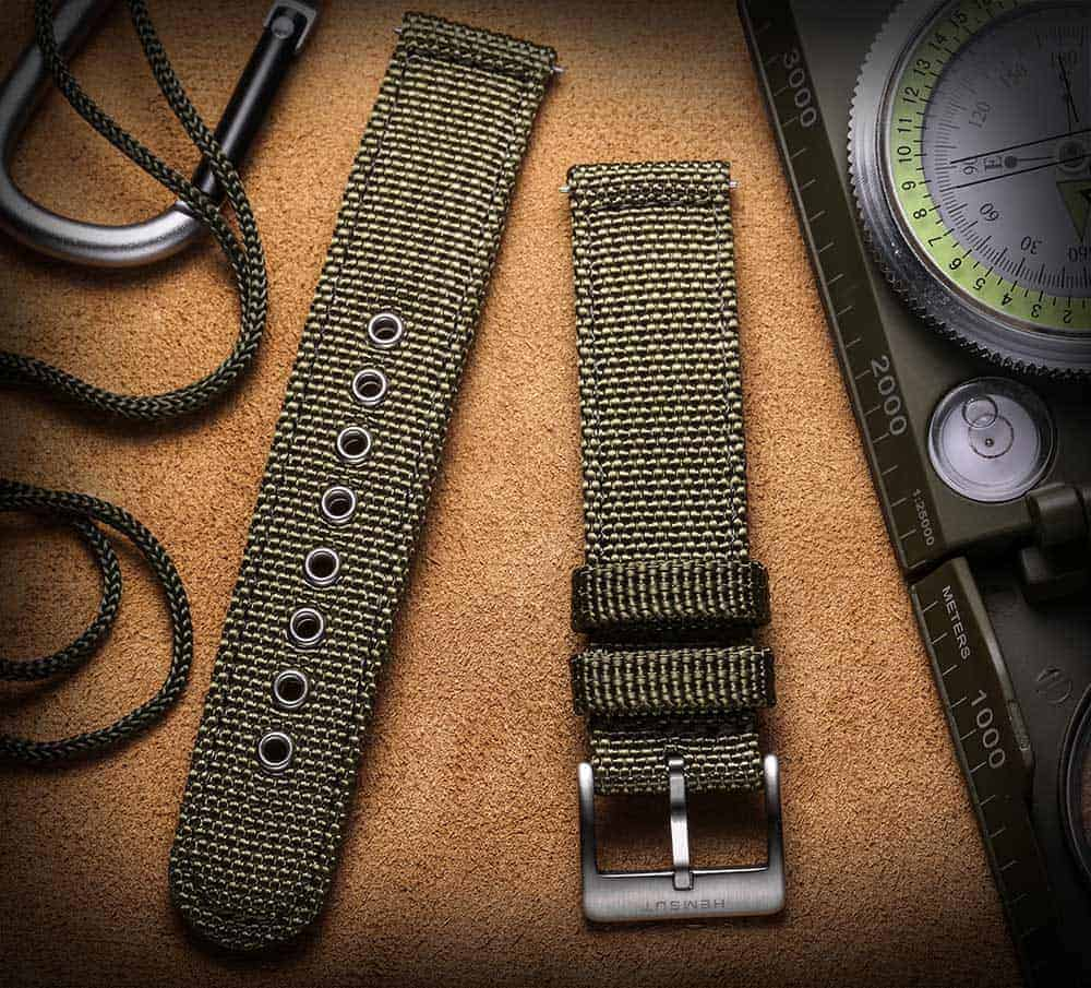FOSSIL GEN 5 | Canvas Watch Band | Green