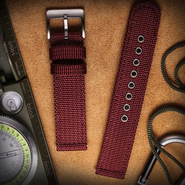 AMAZFIT BIP | Canvas Watch Band | Red