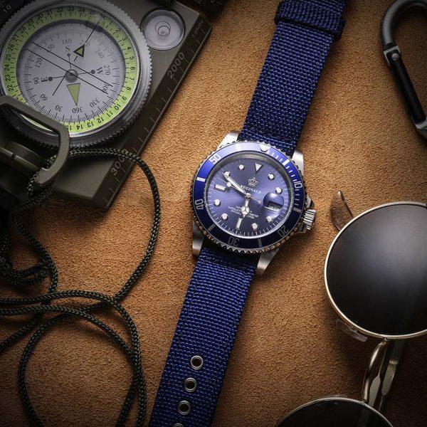 Samsung Galaxy Watch | Canvas Watch Band | Blue