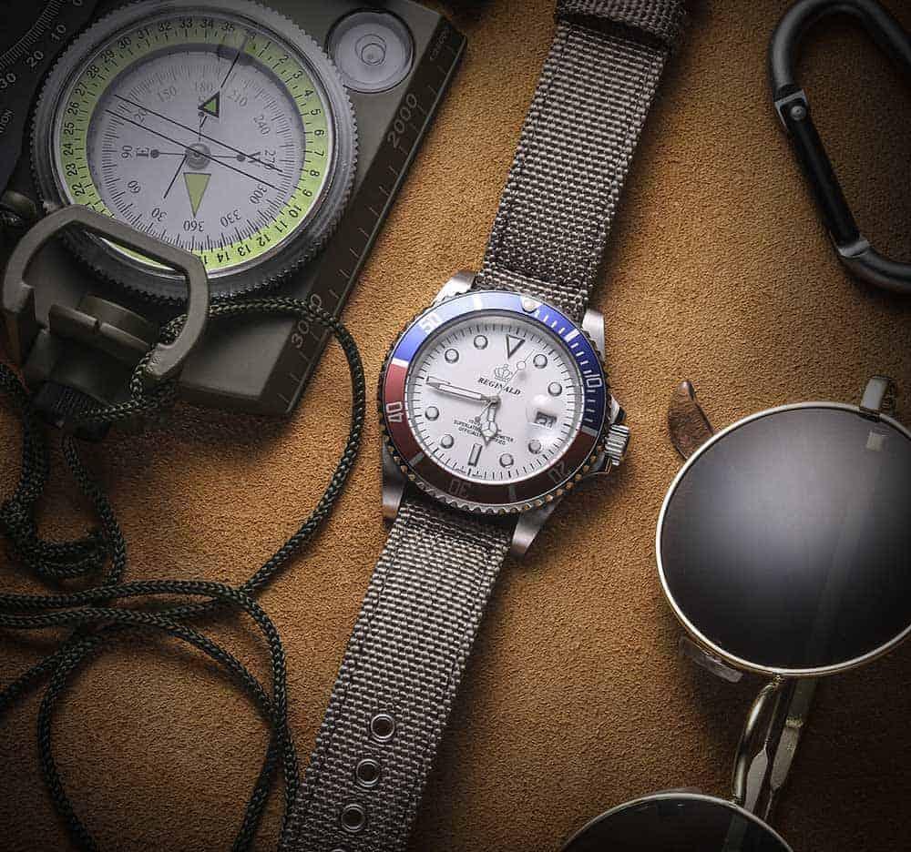 Samsung Galaxy Watch Active 2   Canvas Watch Band   Grey