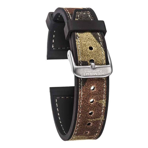 Samsung Galaxy Watch | Silicone & Leather Hybrid Watch Straps | Cambo