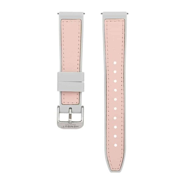 AMAZFIT BIP | Silicone & Leather Hybrid Watch Bands | Pink