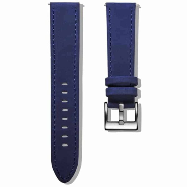 Blue | Genuine Leather Watch Bands Quick Release