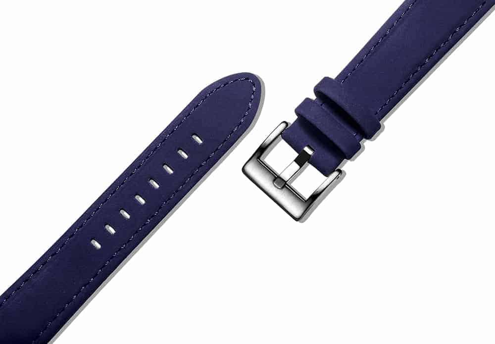 Samsung Gear Sport | Genuine Leather Watch Bands | Blue