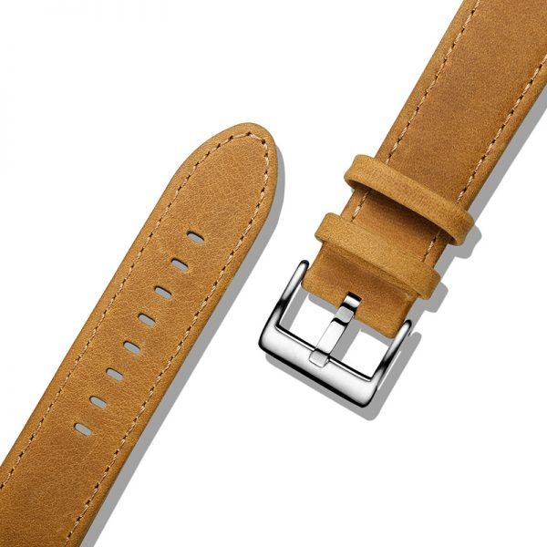 Brown | Genuine Leather Watch Bands Quick Release