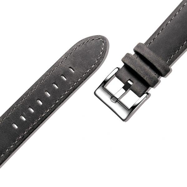 Dark Grey | Genuine Leather Watch Bands Quick Release