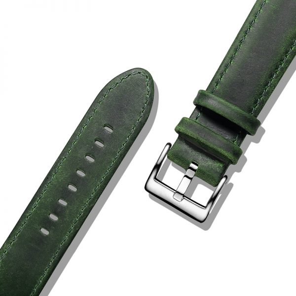 Samsung Gear S3 | Genuine Leather Watch Bands | Green