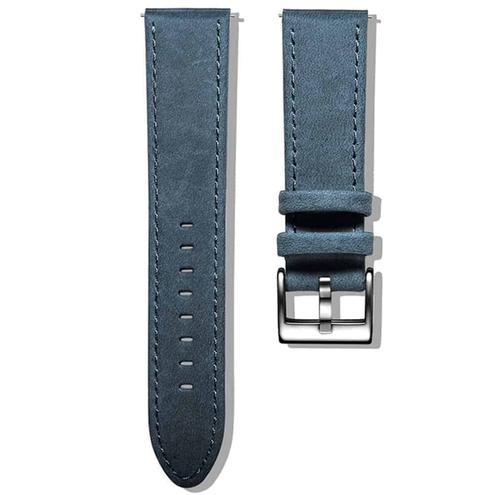 Apple Watch Bands   Genuine Leather Watch Bands   Navy Blue