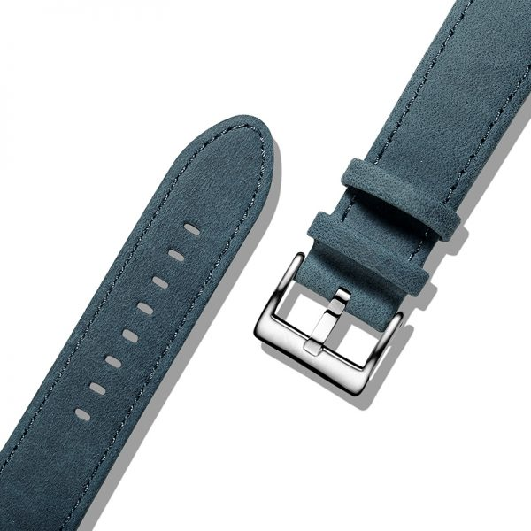 Navy Blue | Genuine Leather Watch Bands Quick Release