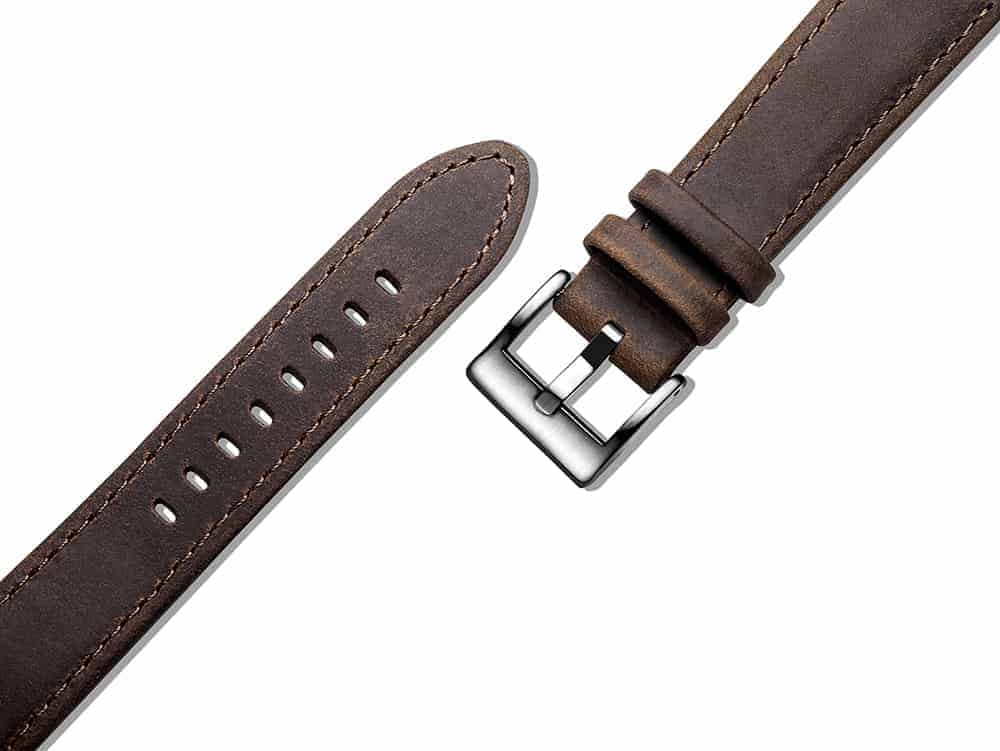 Samsung Galaxy Watch Active 2 | Genuine Leather Watch Bands | Saddle