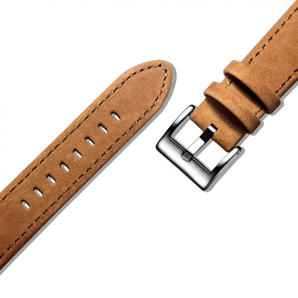 Suede Brown | Genuine Leather Watch Bands Quick Release